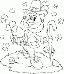 Small Picture pleasant st patrick day coloring pages printable color pages for