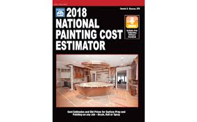 2018 national painting cost estimator