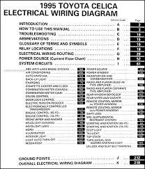 1995 toyota celica wiring diagram manual original 1995 toyota celica wiring diagram manual original · table of contents
