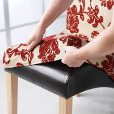 fabric covered dining room chairs uk. how to make retro chair cover for vintage chairs. dining room fabric covered chairs uk d