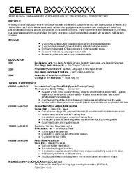 Linguist Resume Example Professional Resume Templates