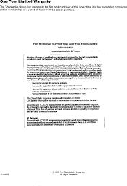Chamberlain Technical Support Ntd Wireless Portable Intercom User Manual 1 Chamberlain