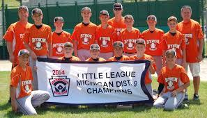 A winning season for Byron Township Little League - mlive.com