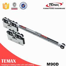 m90d hanging sliding glass door soft closing track roller replacement parts