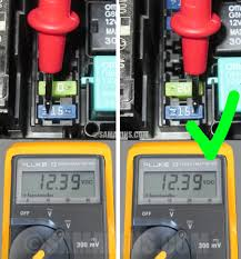 Test Light Bulb With Multimeter How To Check A Fuse In A Car