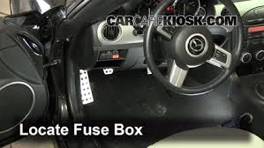 interior fuse box location 2006 2015 mazda mx 5 miata 2011 interior fuse box location 2006 2015 mazda mx 5 miata 2011 mazda mx 5 miata grand touring 2 0l 4 cyl