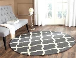 4 round rug decorating ideas