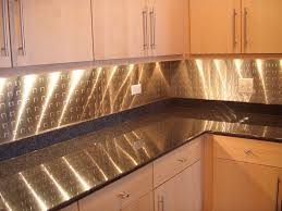 Kitchen Backsplash Panel Kitchen Stainless Steel Backsplash Ideas Cliff Kitchen