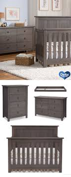 gray nursery furniture. serta northbrook nursery furniture collection in rustic grey gray o
