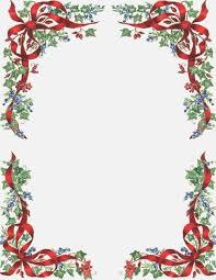 Best Revered Free Printable Christmas Letterhead Insightweb