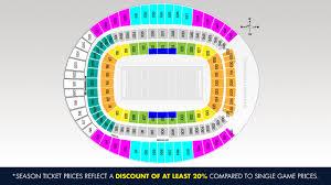 Denver Broncos Season Tickets