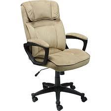 beige desk chair. Modren Beige Serta Fabric Computer And Desk Office Chair Fixed Arms Light Beige 43670 Throughout Chair