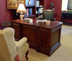 executive office desk cherry. Unique Cherry Image Space Saver Executive Office Desk  In Cherry O