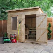 8X6 Aero Curved Roof Shiplap Wooden Shed