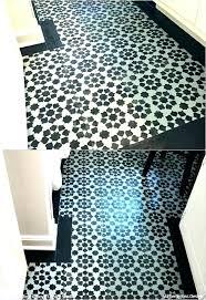 checd vinyl flooring floor stencils unique how paint floors black white v extraordinary and melbourne