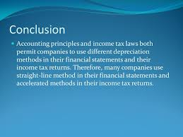 Different Depreciation Methods Consideration Of Depreciation And Income Taxes Ppt Video Online