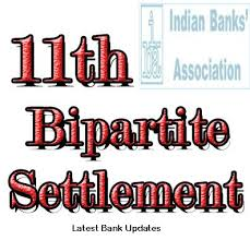 11th Bipartite Settlement For Bankers Charter Of Demands