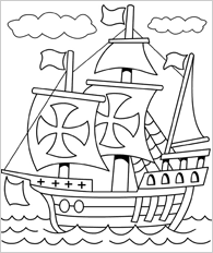 Free Printable Mayflower Coloring Pages Surviving A Teacher S Salary