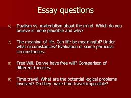 review for final exam exam format multiple choice questions  4 essay questions