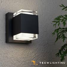 tech lighting voto 6 led outdoor wall sconce