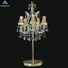 antique crystal chandelier table lamp lamps australia