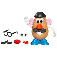 mr potato head mustache. Perfect Mustache Disney MrPotato Head Round Figure Children Wacky Mustache Toy Christmas  Gift And Mr Potato