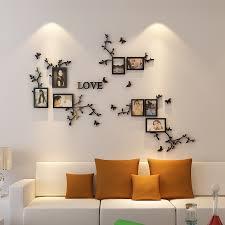 Heißer Verkauf Foto Rahmen Wand 3d Acryl Wand Aufkleber Wohnzimmer