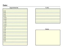 Planner Sheet 40 Printable Daily Planner Templates Free Template Lab