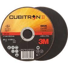 DISCO CORTE INOX 3M CUBITRON broca, efectos navales, disco. lijador, lamina, fresa, sierra, corona, lima