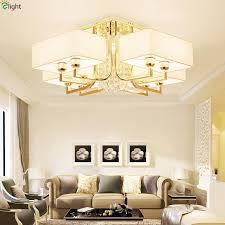 modern re crystal led chandeliers lighting gold metal living room led ceiling chandelier lights bedroom chandelier fixtures chandeliers vintage