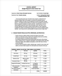 Budget Forms To Print Free 8 Sample School Budget Forms In Word Pdf