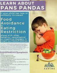 pans eating disorder food