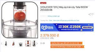 Review máy ép trái cây Tefal ZE550D38 có tốt không, giá bao nhiêu?