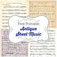 Antique Sheet Music Fundacionsos Co