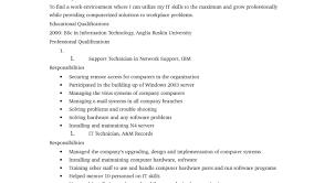 Resume En Resume How To Write A Functional Resume 3 7 Image Free