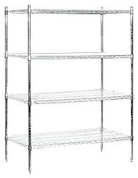 8 inch deep wire shelving storage shelves industries stationary unit wide by high chrome