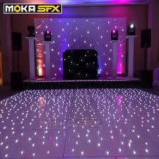 Us 7719 0 Flight Case Packing With16x16 Feet Led Wedding Dance Floor Concert Stage Flooring Dance Dj Lighting Floor Flight Case In Stage Lighting