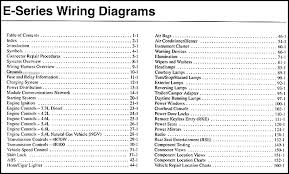 2003 ford econoline van & club wagon Door Lock Wiring Diagram 2001 Ford E250 Van 2001 Ford F350 Wiring Schematic