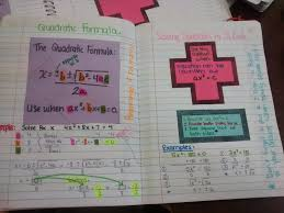 algebra 2 solving quadratics inb pages