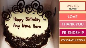Write Any Name On Birthday Cakes All Types Best Wishes Cards