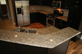 new venetian gold granite counter traditional kitchen grand rapids