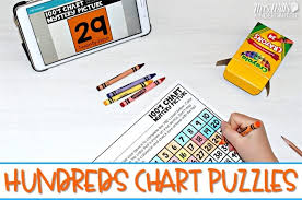Small Hundreds Chart Printable Hundreds Chart Puzzles For The Whole Year And A Free Sample