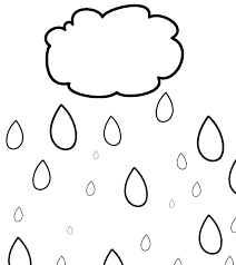 Small Picture Coloring Pages Of Raindrops Coloring Home