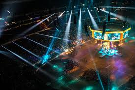 plsn ld systems provides stage lighting for a long roster of artists at houston rodeo