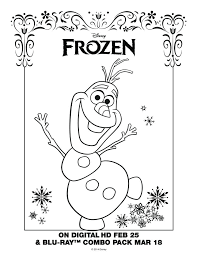 Small Picture Printable Coloring Pages Frozen Olaf Coloring Pages Ideas