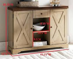 sofa table with barn door drawers wood contemporary sideboard buffet console storage