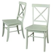 Dining Chair Wood Mint Green Tar