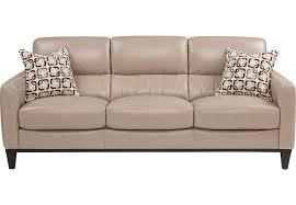beige leather sofa. Beige Leather Sofa