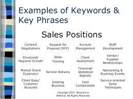 Management Resume Key Phrases Cv Resume Biodata Samples