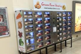 Vending Machines For Sale Uk Unique Vegetable Vending Machine Unveiled In Dundee In Bid To Promote Sale
